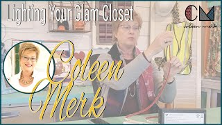 How To Light Your Glam Closet - Your Remodeling Coach, Coleen Merk