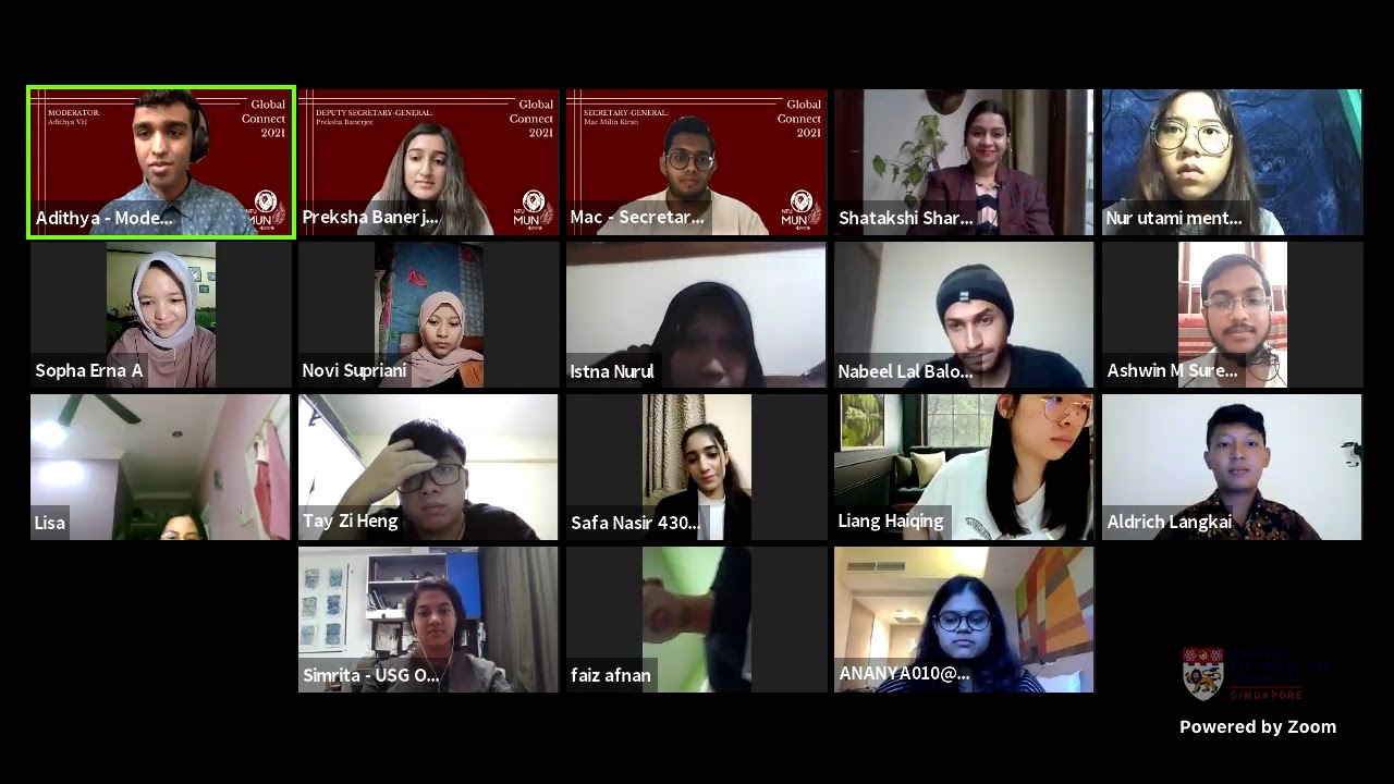 NTUMUN The Global Connect Ep 3 - Translating the Youth's Perspective into Policy