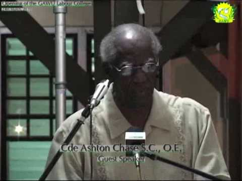 Feature Address by Cde Ashton Chase, SC, OE on the...