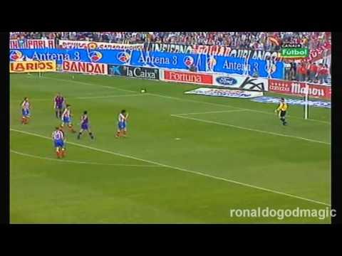 96/97 Away Ronaldo vs Atletico Madrid