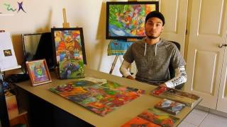 Autism and Art: Benjamin Wever, a young Autistic adult with a Passion for Art, tells his story