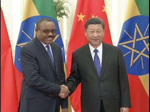 Chinese Leaders Meet Visiting Ethiopian PM, Proposing to Advance Bilateral Ties