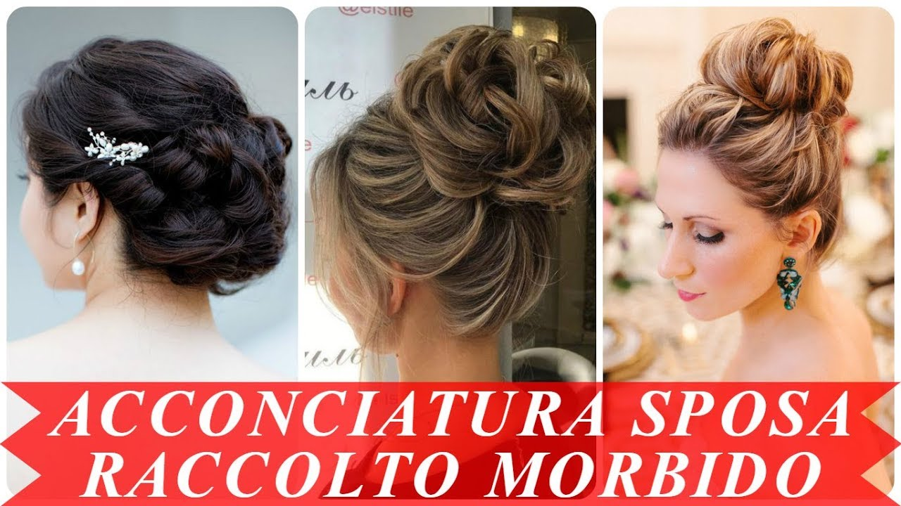 Populaire Tendenze acconciature raccolte per matrimonio 2018 - YouTube RW84