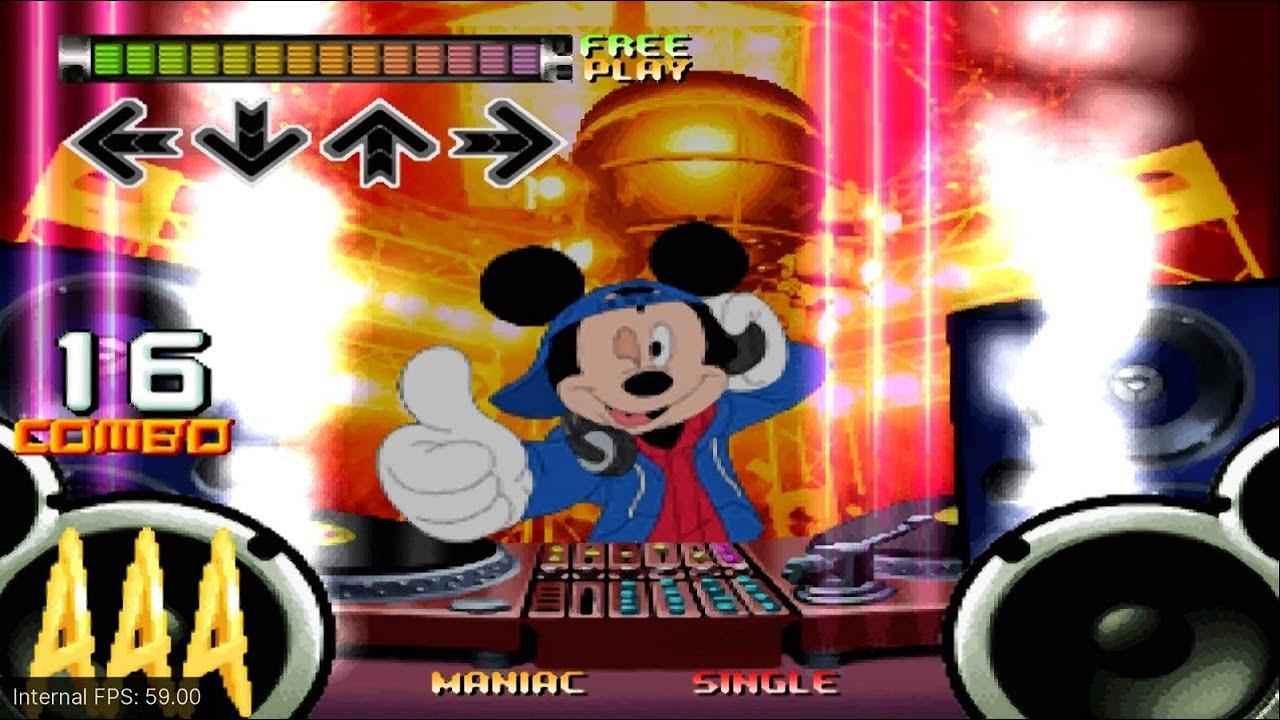 Dance Dance Revolution Disney