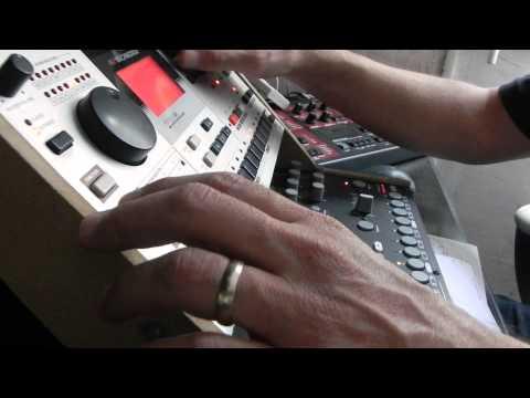 ELEKTRON Machinedrum UW-House music Live performance