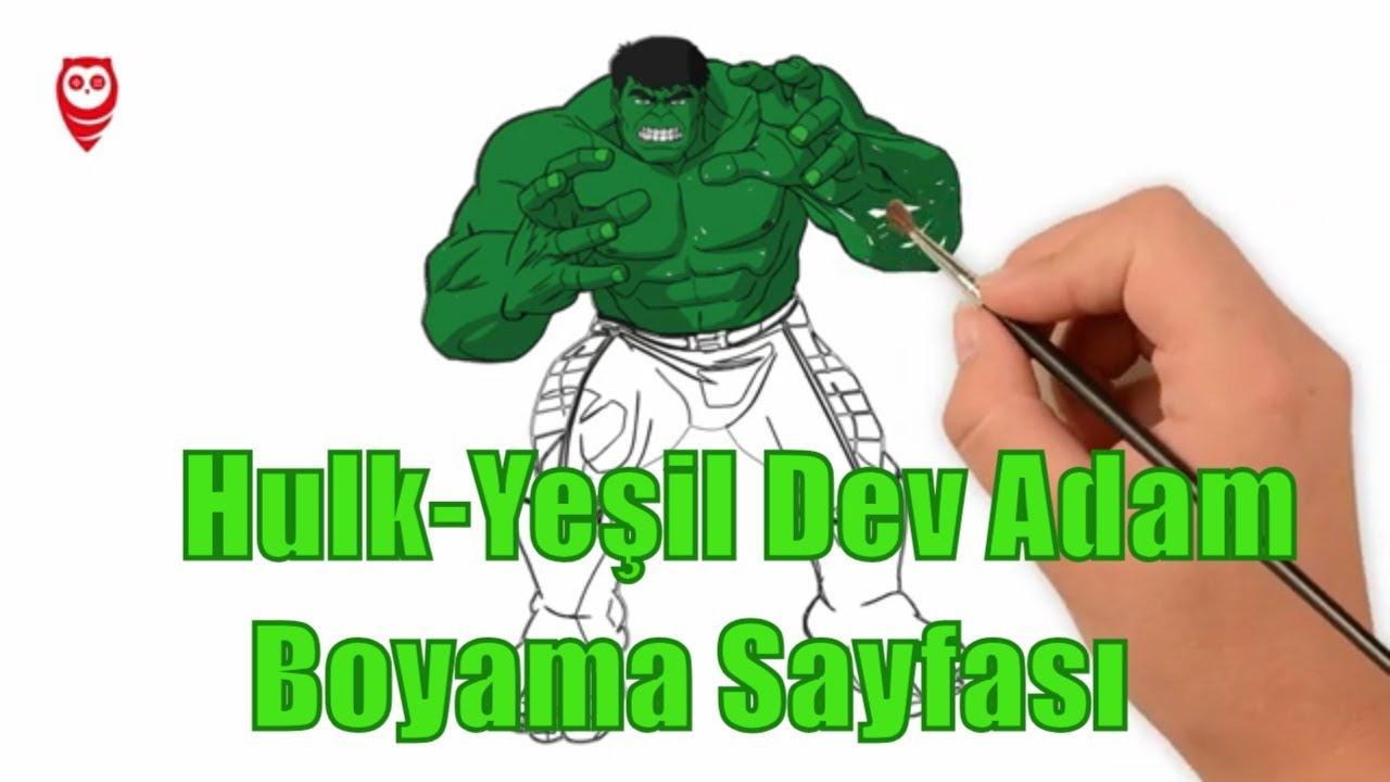 Yeşil Adam Boyama üst Ev Boyama Sayfası