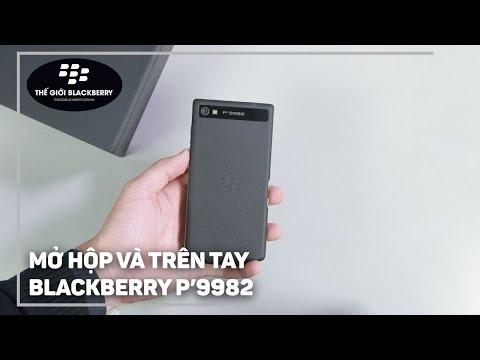 Mở hộp, Trên tay BlackBerry Porsche Design P'9982 - Đẳng cấp của Smartphone BlackBerry
