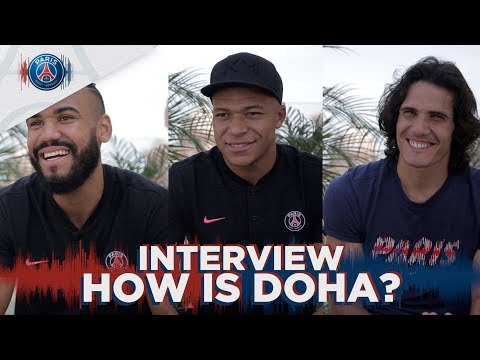 INTERVIEW with Mbappé, Cavani & Choupo-Moting Mp3