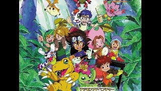 Digimon adventure ost (anime original soundtrack) - part 1/2