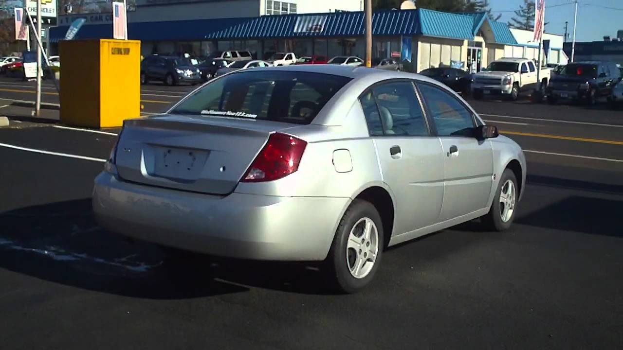 2003 saturn ion buy here pay here used car lots youtube. Black Bedroom Furniture Sets. Home Design Ideas