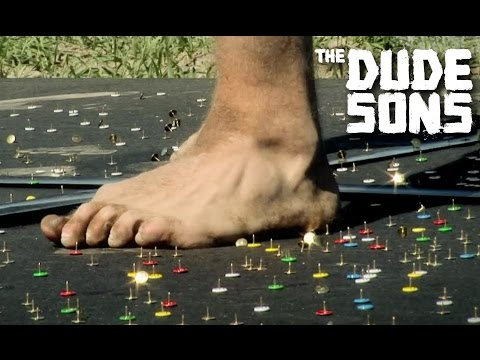 Thumbnail: BRUTAL Thumbtack Track Challenge! - The Dudesons