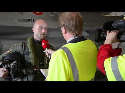 F-16 Tager Til Estland