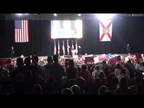 Trump Rally Tampa, 20,000 strong