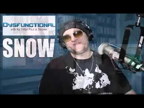 Interview with Snow 04/15/2016 - Informer - Platinum Reggae Recording Artist - Dysfunctional Podcast