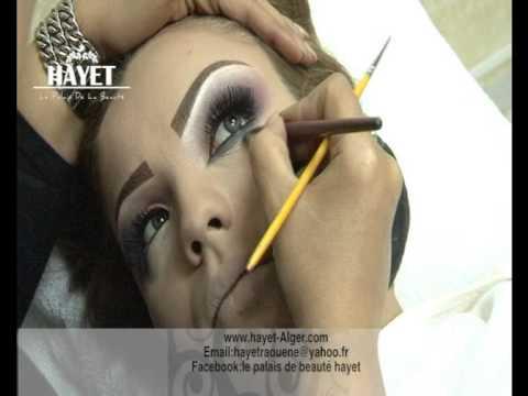 """le palais de la beauté """"hayet"""" démonstrations maquillage 2 """"2015"""""""