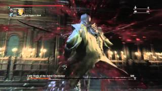 Bloodborne: Man fisting a woman on her period.
