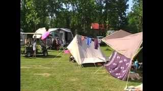 Gezellig kamperen op camping Si-Es-An. Hemelvaart 2012