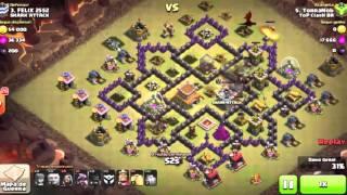 Ataque de Corredor No Clash of Clans