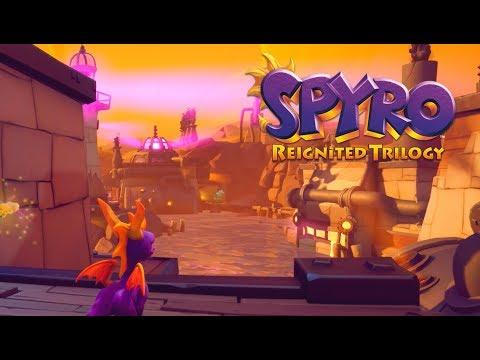 Spyro Reignited Trilogy - Spyro the Dragon 120% Walkthrough Part 32 - Twilight Harbor