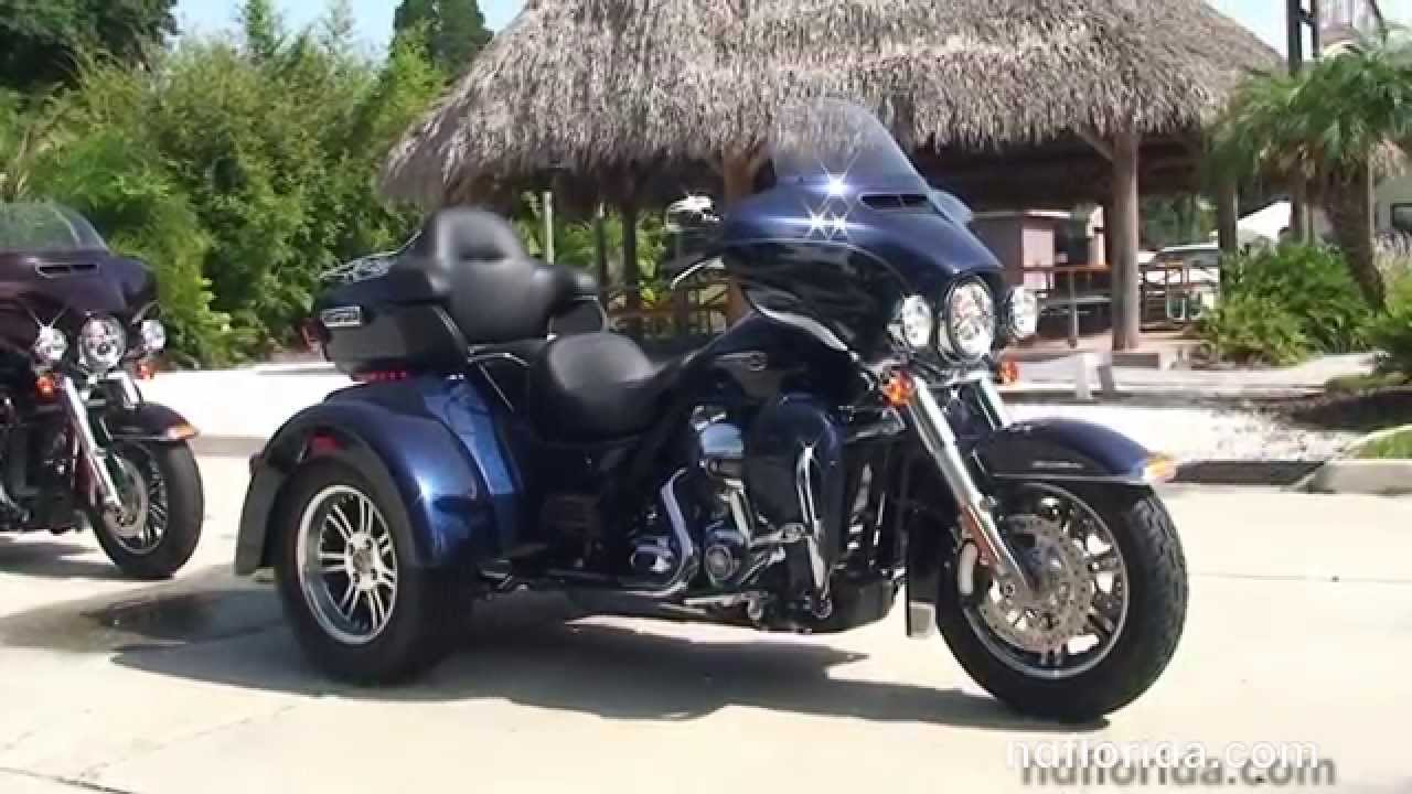 2014 harley davidson 3 wheel trike motorcycle three wheelers for sale youtube