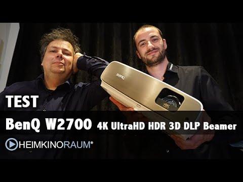 Megatest: BENQ W2700 4K UltraHD HDR 3D Beamer