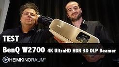 Megatest: BENQ W2700 4K UltraHD HDR 3D Beamer - Der neue Überflieger?