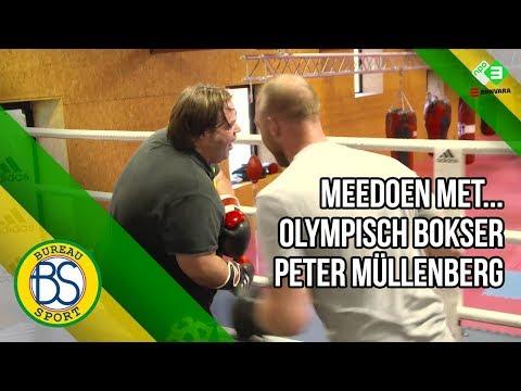 Meedoen met...bokser Peter Müllenberg