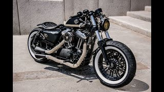Top 5 The Most cool custom motorcycles from Harley Davidson bobbers of 2020
