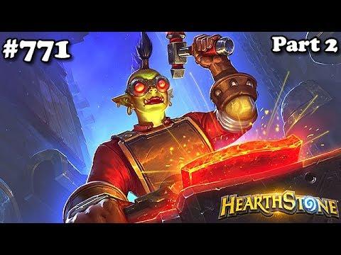 Hearthstone Quest Taunt Warrior S40 Parte 2 Standard #771 - Guerreiro Provocar Missão