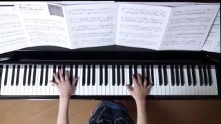 使用楽譜;月刊ピアノ2016年11月号、 2016年10月30日 録画、