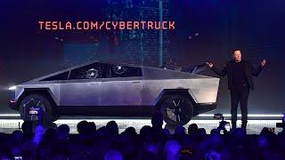 Elon Musk fails in all 'bulletproof' cybertruck reveal at live launch in LA