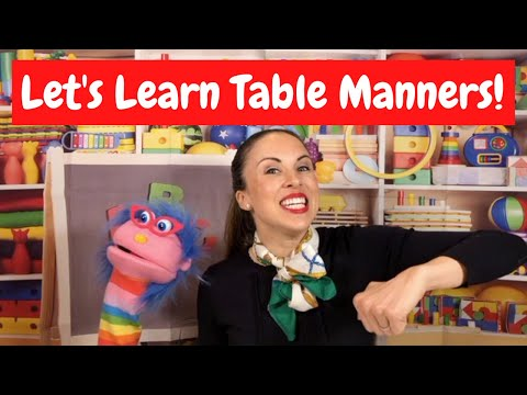 How you can Educate Preschoolers Table Manners