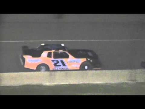 Crowley's Ridge Raceway 9/26/15 #21 Chris Sims Street Stock Heat Race