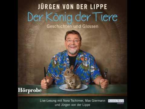 Der König der Tiere: Geschichten und Glossen YouTube Hörbuch Trailer auf Deutsch