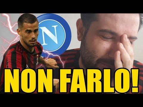 [SFOGO] SUSO dice SI al NAPOLI??? Non puoi farmi questo!! || Calciomercato Milan