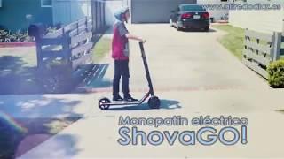 Monopatín eléctrico ShovaGO!