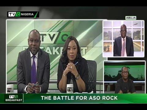 TVC Breakfast  9th Oct., 2018 | The  battle for Aso Rock