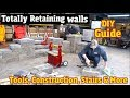 DIY Guide to Everything Retaining Walls w/ Versa-Lok -Including Stairs, design, Construction & more