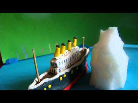 TITANIC z plasteliny
