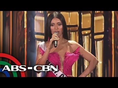 Gazini Ganados mula sa Talisay, Cebu, kinoronahan bilang Miss Universe-Philippines 2019 | UKG