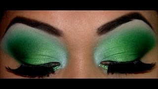 Greens with a touch of Blue Tutorial!!!