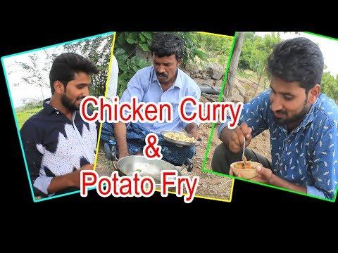 Tasty Chicken Curyy || Bamboo Chicken Village Style || Chicken Pops || Street Food ||