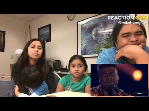 Family Reacts To Kirk Jay Sings Tomorrow   The Voice 2018 Live Top 10 Performances