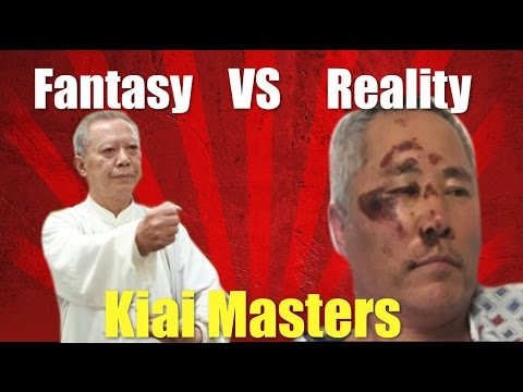 Kiai Masters VS Reality! Can Magic Help You Win A Fight?