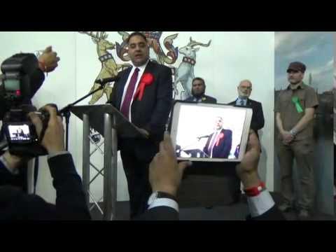 Bradford East - General Election Declaration