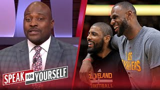 Kyrie was taking shots at LeBron, then tried to cover it up - Wiley | NBA | SPEAK FOR YOURSELF