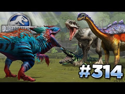 YUDON TAKES THEM ALL ON! || Jurassic World - The Game - Ep314 HD