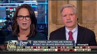 Hoeven Fox Business Interview on Government Funding and Border Security