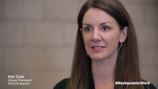 Kat Cole on the restaurant industry