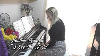 "Heather Gunton performing ""I See The Light"" (Alan Menken)"